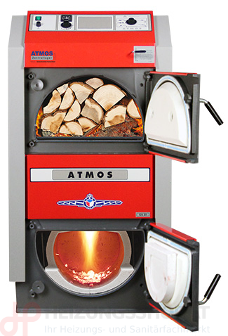 Atmos Holzvergaserkessel, GS-Serie