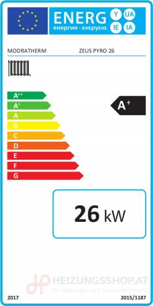 Holzvergaser Pyro 26 - ErP Label