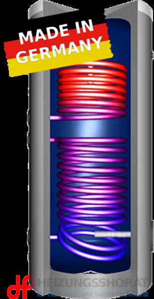 Standspeicher JP mit 2 Register und Isolierung