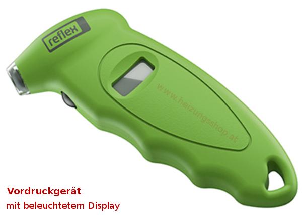 Reflex Vordruckmessgerät, digital