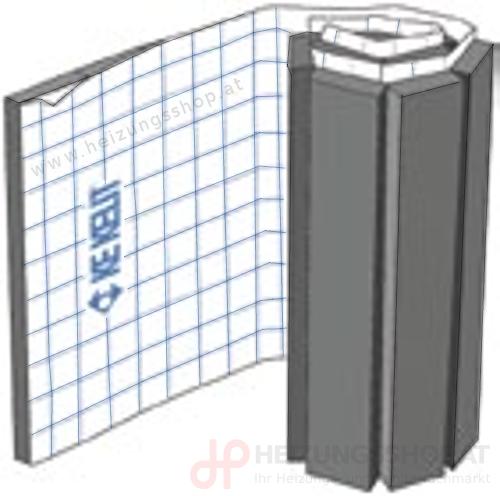 Kelox Klettplatte für Fußbodenheizung