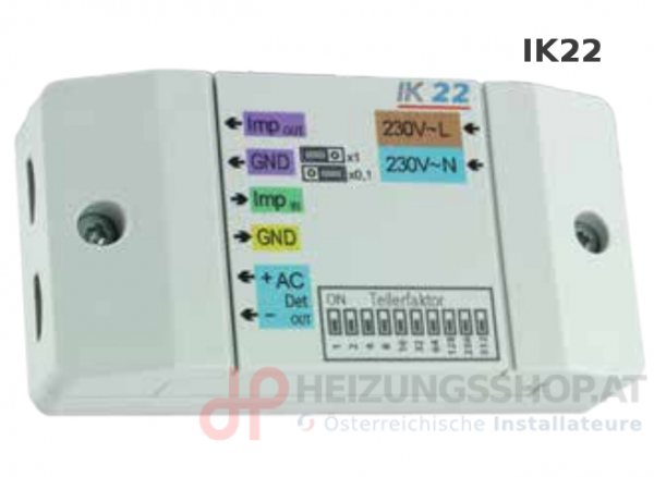 Impulskonverter IK22, Technische-Alternative