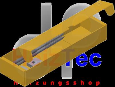 Solarbefestigung, Stockschrauben M12x300
