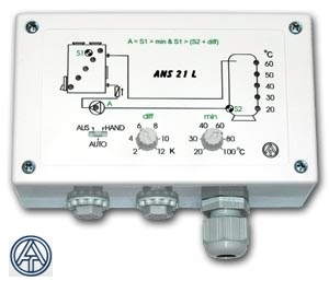 ANS21 Einkreis Solarregelung