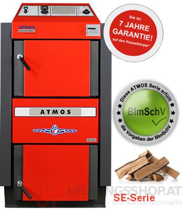 Atmos Holzvergaserkessel SE 30kW