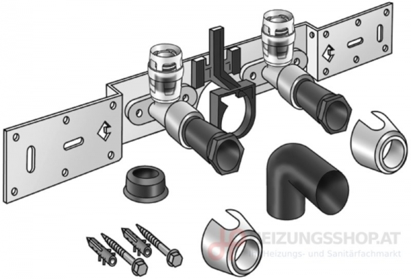 KELOX-Protec Anschluss-Set mit Siphonbogen 20mm