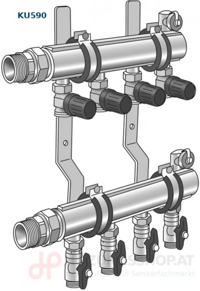 Ultra PE-RT Verteiler, KU590