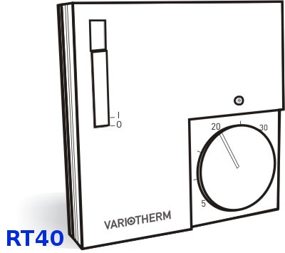 Elektronischer Raumthermostat PIANO