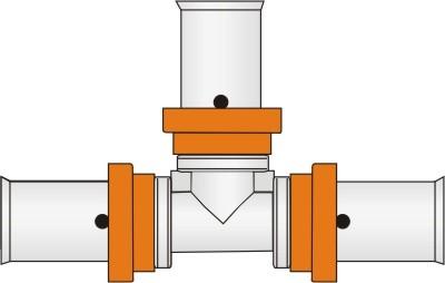 Press-T-Stück