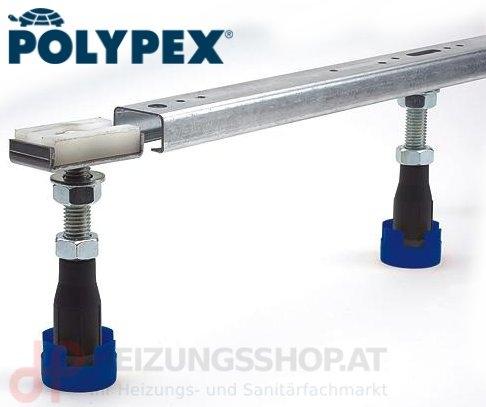 Polypex Wannenträger-Stellfüße