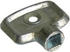 Entlüftungsschlüssel 4 Kant aus Metall