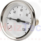 Thermometer 63mm, 0 bis 120°C