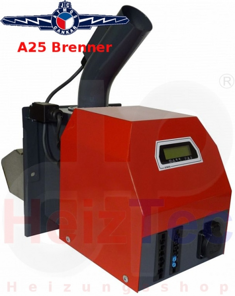 Atmos Pelletsbrenner A25 mit 5 bis 25 kW