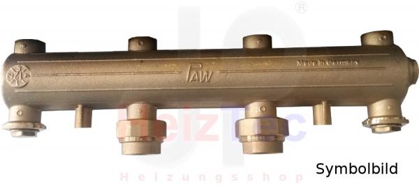 PAW Verteiler DN25 für HeatBloc