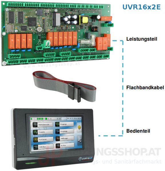 Technische Alternative - UVR16x2E -DE