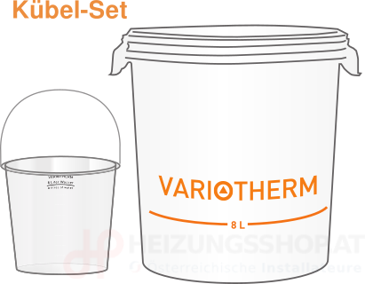 Variotherm Kübel-Set