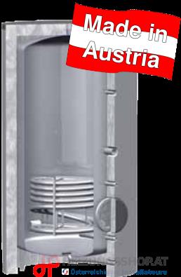 Edelstahlspeicher aus Österreich