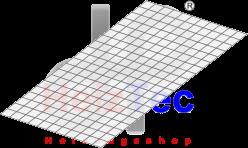 Gittermatte 2,53m², 3mm