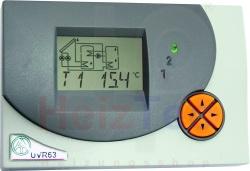 UVR63 Dreikreisregelung mit grafisch. Display