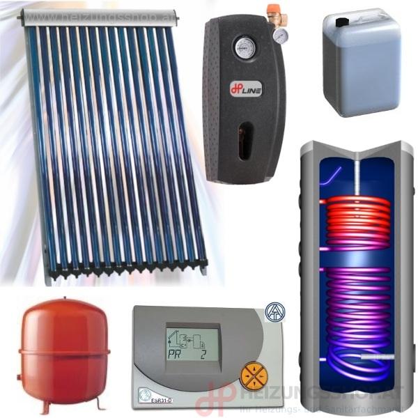 Solarpaket für WW-Aufbereitung
