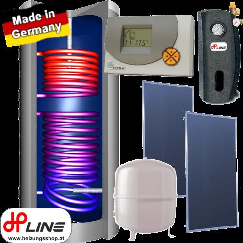 Solarpaket JP300 Boiler, Aufdach 7,74m²