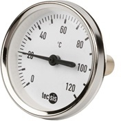 Thermometer 80mm, 1/2""