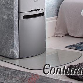 Contura Vorlegeplatten - Kaminöfen