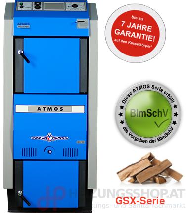 Atmos Holzvergaserkessel, GSX-Serie