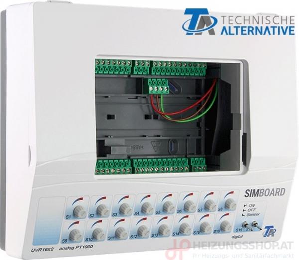Simulationsboard UVR16x2