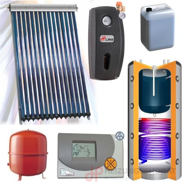 Solarpaket für WW und Heizungsunterstützung