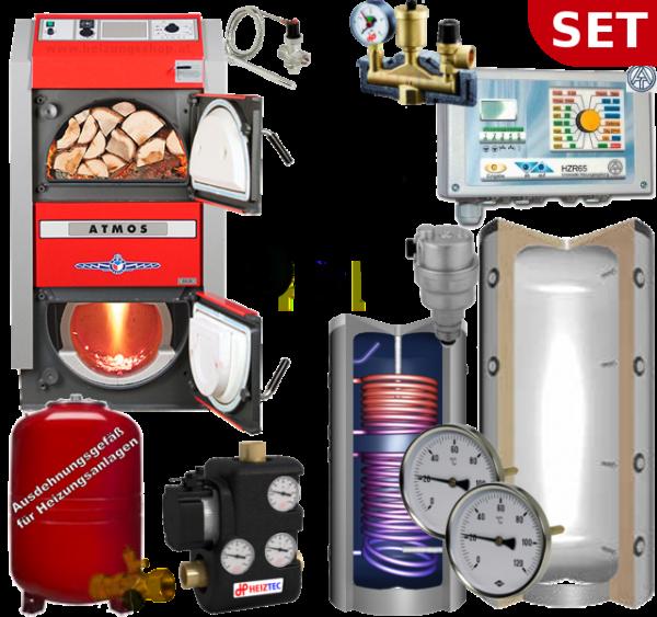 Holzvergaser Komplettsystem - Atmos
