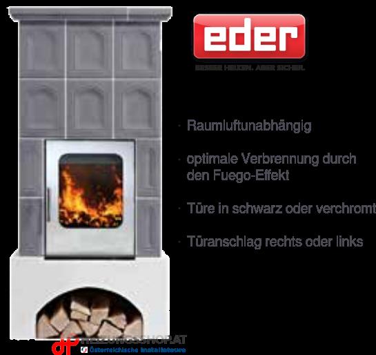 Kachelofen Fuego 69 Edition Aura - Naturstein
